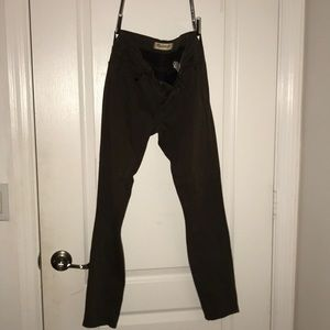 Stretchy madewell olive jeans